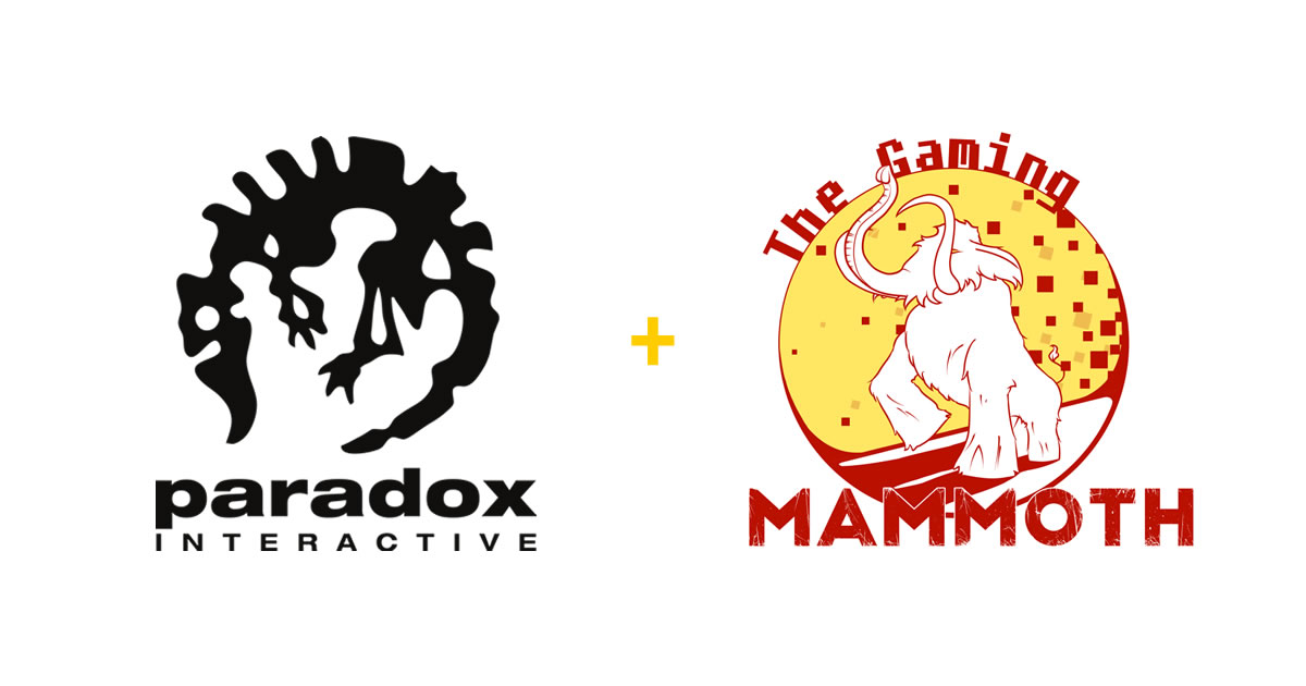 Mammoth partner unlocked: Paradox Interactive
