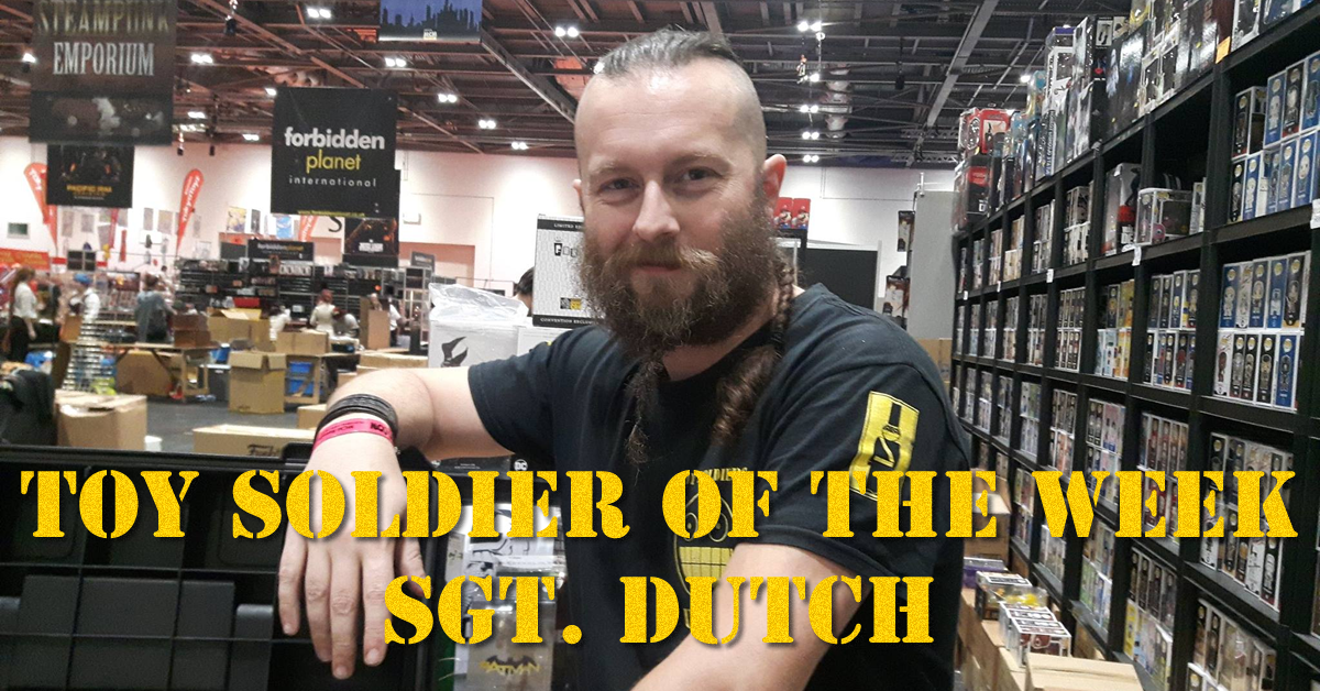 Toy soldier of the Week - Sgt. Dutch