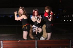 Lieutenant Grimm, Evelfa & Apothecary Chrysalice