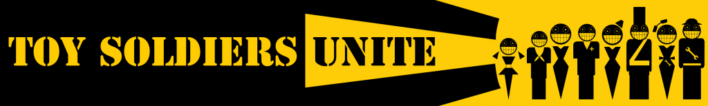 Toy Soldiers Unite Signature Banner