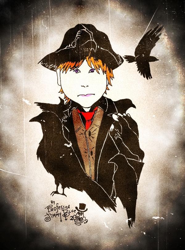 Crow by Professor Jimmy Blue YJ