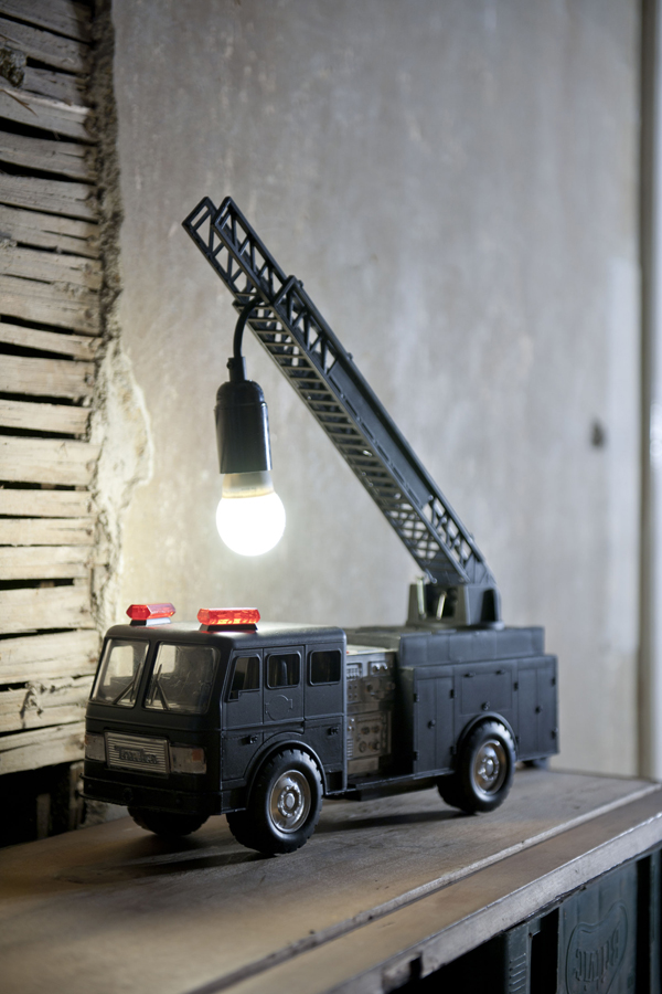 Upcycle Fire Engine Toy Soldiers Unite