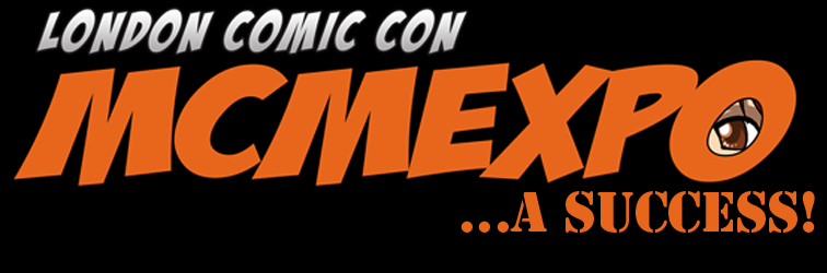 London MCM Expo Comic Con Banner