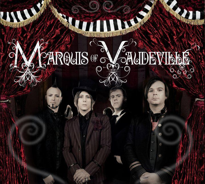 Marquis of Vaudeville Album Cover