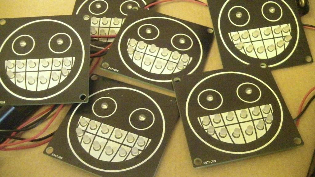 Gonzo's TSU Logo LED's