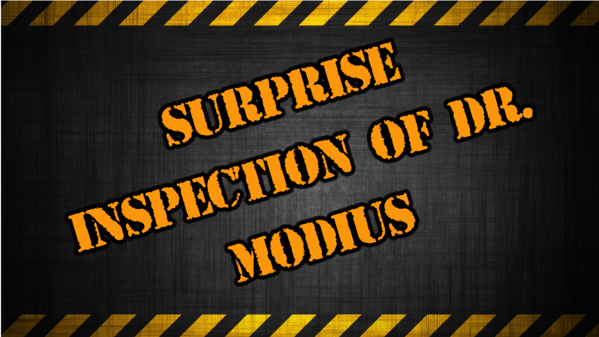 The Surprise Inspection Of Dr. Modius