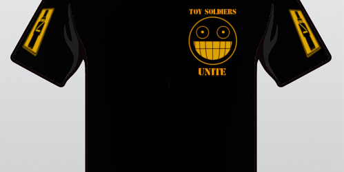 Toy Soldier T-shirt pre-orders start today (Update: Now Closed)
