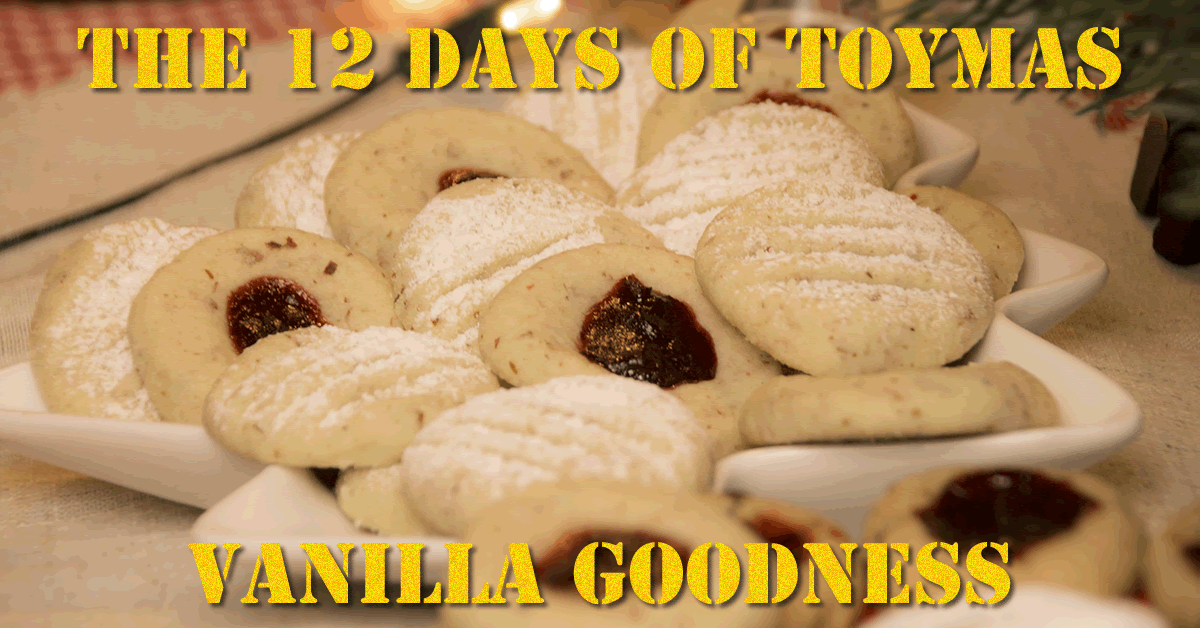 Toymas Recipe: Vanilla Goodness