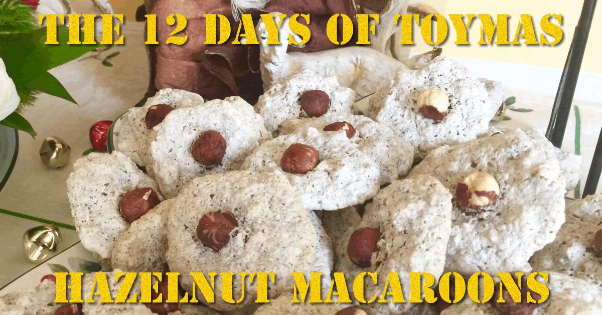 Toymas Recipe: Hazelnut Macaroons