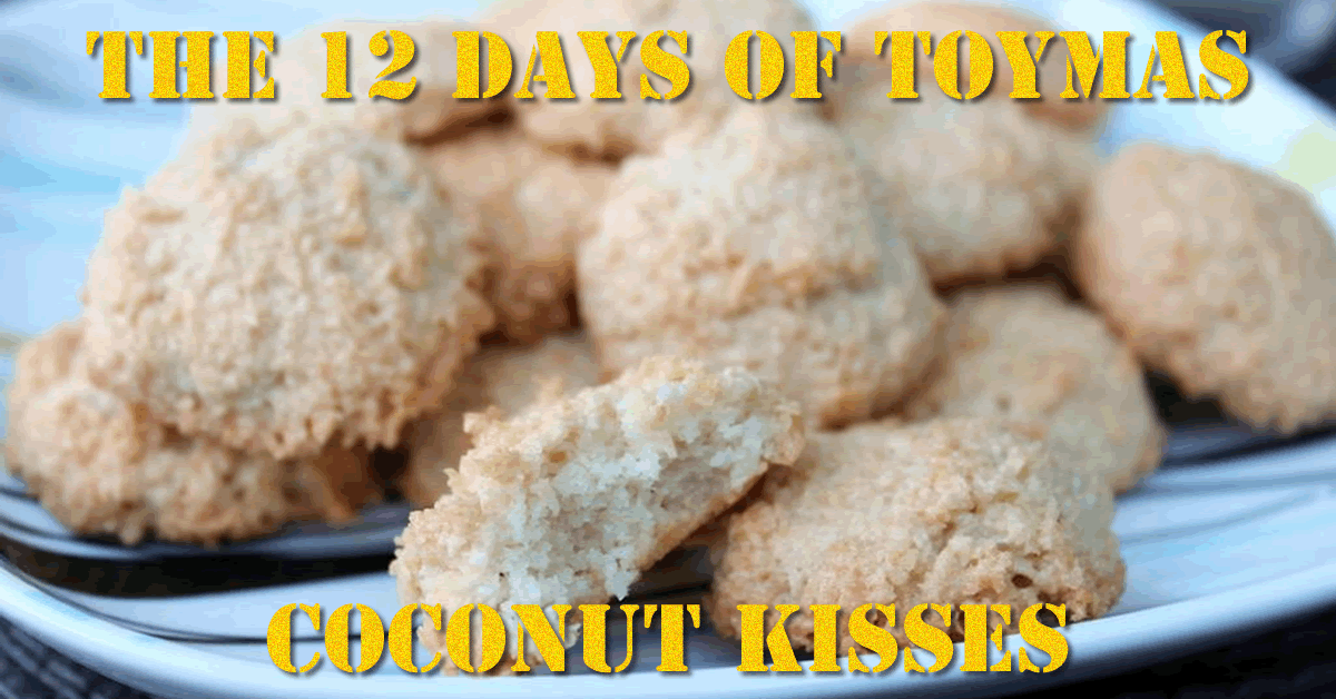 Toymas Recipe: Coconut Kisses