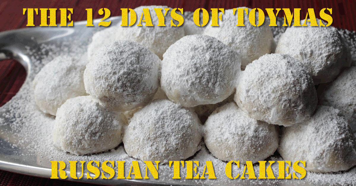 Toymas Recipe: Russian Tea Cakes