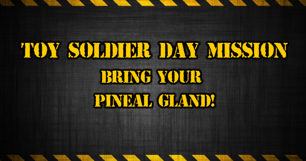 Toy Soldier Day Mission Bring Your Pineal Gland
