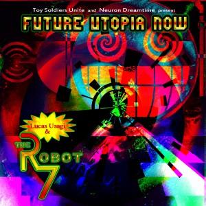 Lucas Usagi & The Robot 7 - Front Cover