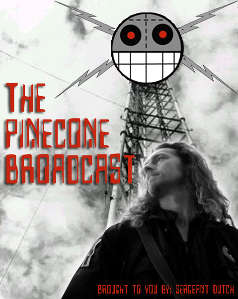 The Pinecone Broadcast Banner