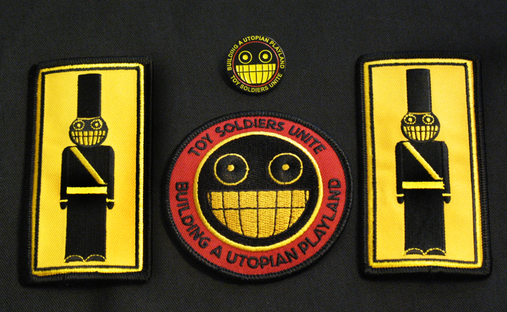 Patches and pin