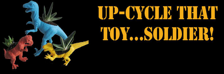 Upcycle That Toy Soldier Banner