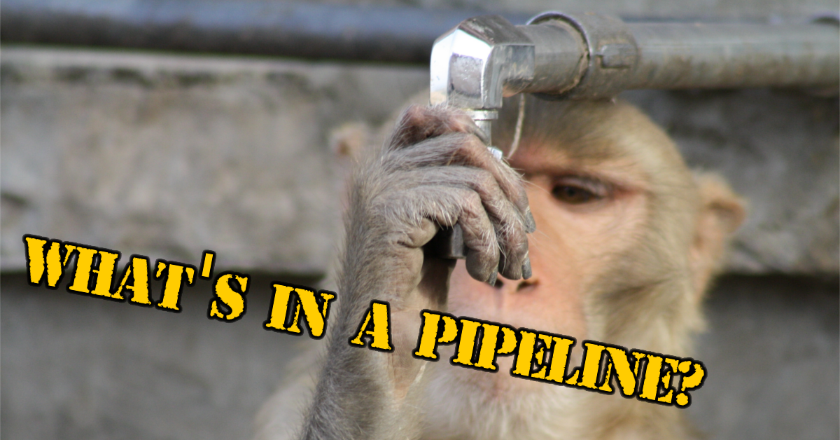 What's in a pipeline - Mad Monkey Maintenance inc.