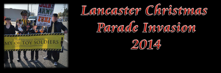 Lancaster Christmas Parade Invasion 2014!!